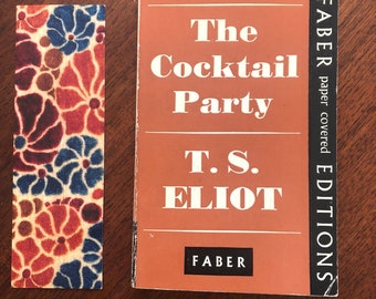 243bc5a1e5f The Cocktail Party by T S Eliot Vintage Faber Paperback