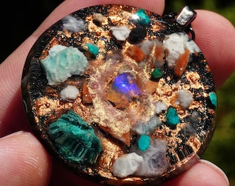 Orgonite \u00ae Meditation Tool Energy Pendant IN STOCK Arch Angel Ion Therapy
