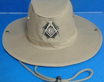 Masonic Sunray Boonie Hat