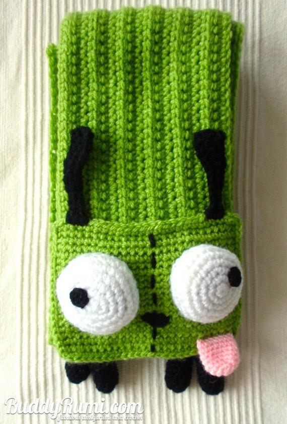 Pattern Gir Crochet Scarf Pattern Winter Accessory Etsy