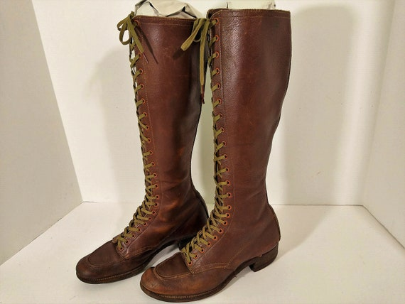 Reliance Women's Riding Boots. 1930's Equestrian l