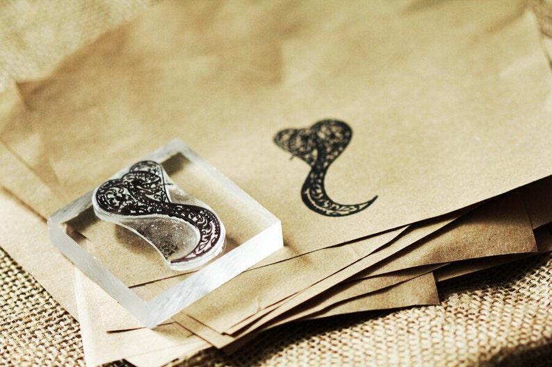 Cobra Sugar Skull Stamp 1x2