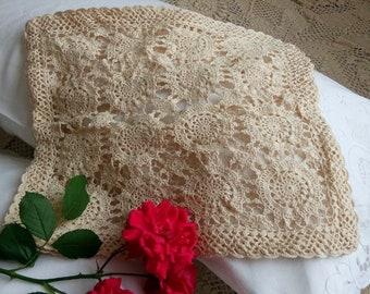 Crochet Pillow Sham Etsy