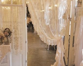 Fantastic Shabby Chic Curtains Etsy Download Free Architecture Designs Xerocsunscenecom