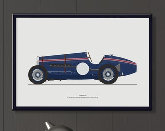 1924 Delage V12 file, women motor racing drivers, makes a great gift.