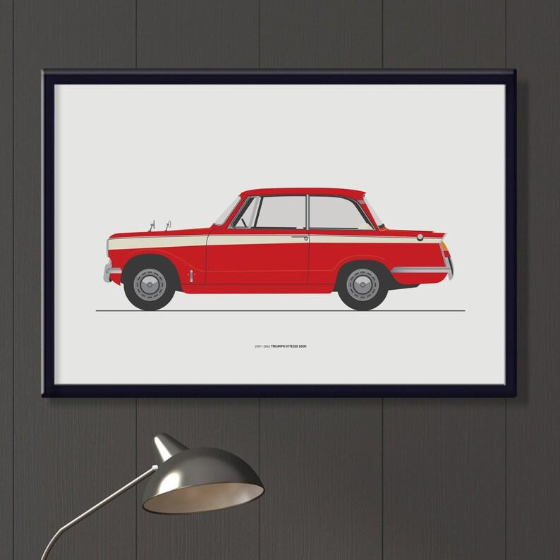 Triumph Vitesse 1600 file. Retro English car Triumph Herald image 0