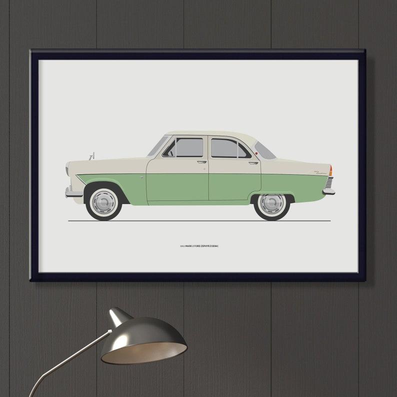 1962 MK2 Ford Zephyr Zodiac file. Classic sixties British car image 0