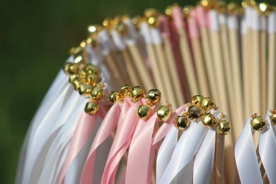 125 Wedding Ribbon Wands Party Streamers Party Decorations Etsy
