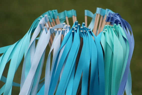 250 Wedding Ribbon Wands Party Streamers Party Decorations Etsy