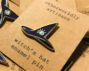 Witch Hat Enamel Pin | Witch's Hat | Lapel Pin