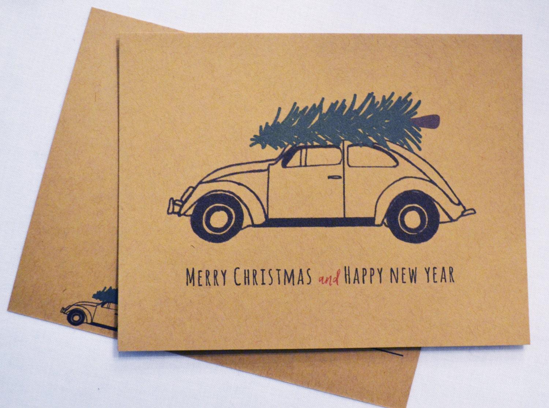 Set of 10 Christmas Postcards, Holiday Postcard, Christmas Postcard ...