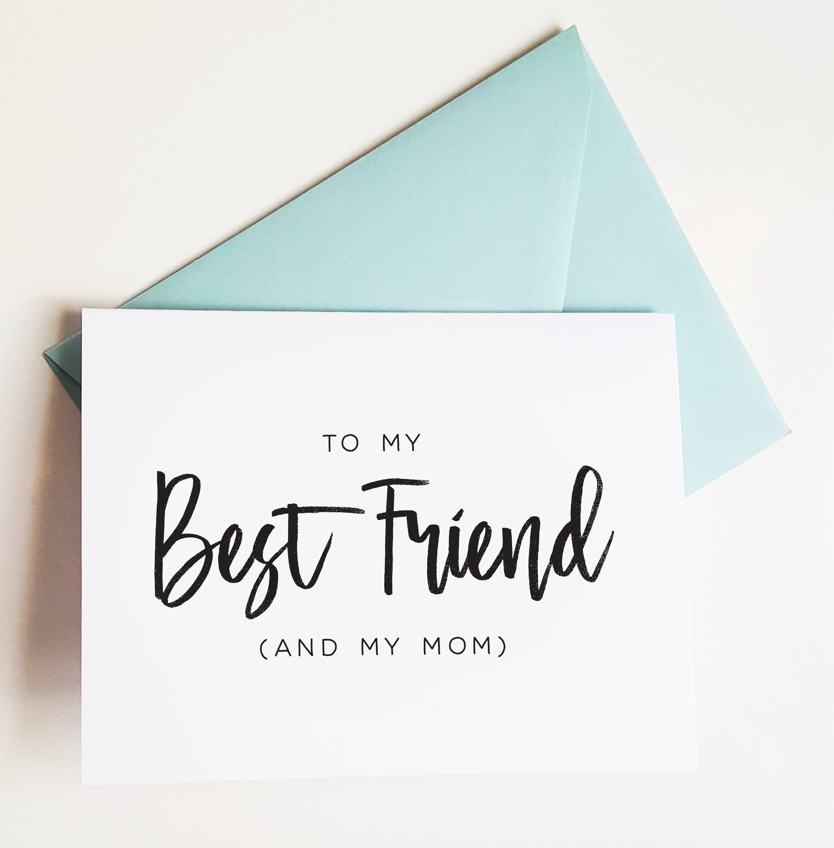 Mothers Day Cards Best Friend Card For Mom On Mothers Day Mom