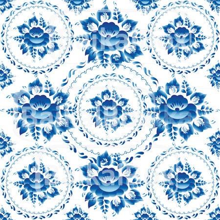 Flores Azules Sin Fondo