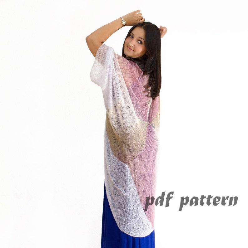 13333c1e5 KNITTING PATTERN Original Kimono knitting patterns for women