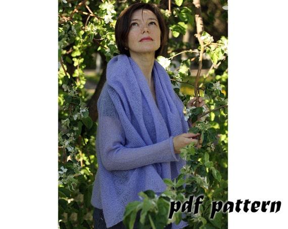 Knitting Pattern Women Cardigan Knitting Pattern Mohair Etsy