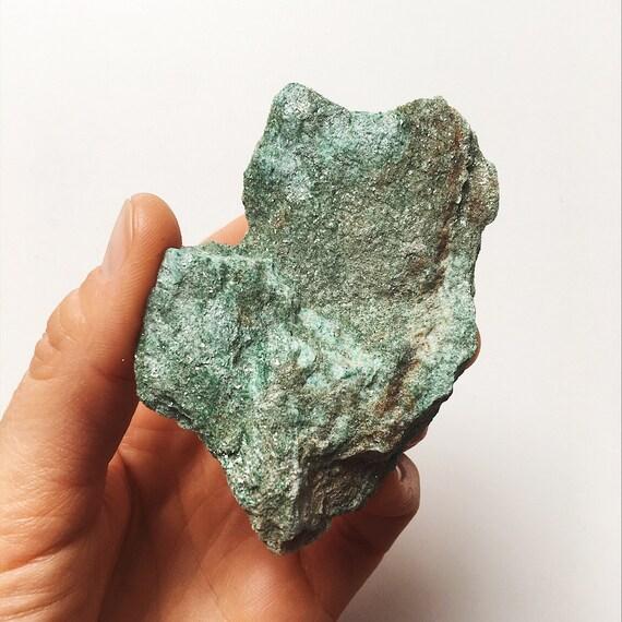 Green Fuchsite raw piece