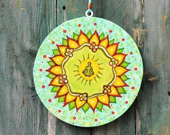 Yoga,Wallhanging,Homedecor,Birthdaygift,Gift,Handpainted,Original,Love,Art,Painting,Symbols,Canvas,CustomMade/AnouksArtStudio