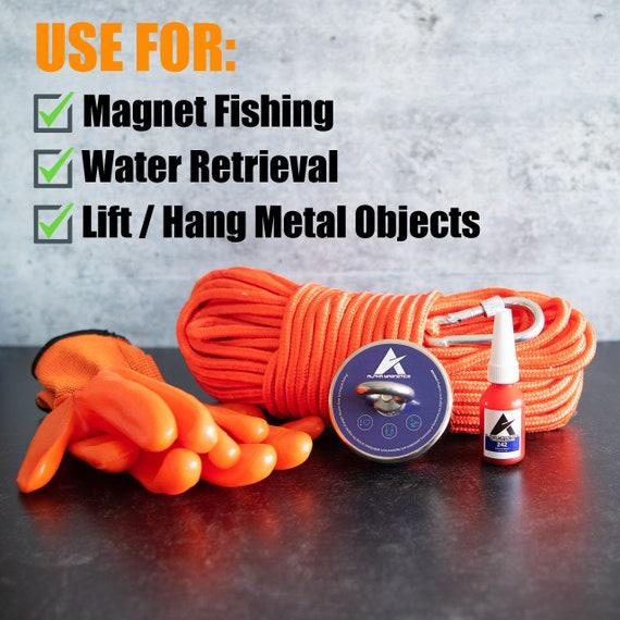 Download 630lb Fishing Magnet Kit Lift Magnet Set Magnetic Fishing Etsy