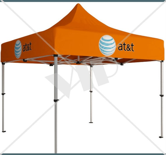 Custom Branded Pop Up Canopy Tents For Events Tradeshows Etsy