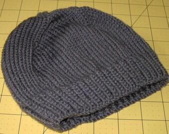 Made-to-Order Handmade Child Alpaca & Wool Blend or a Superwash Merino Blend Beanie Skull Hat