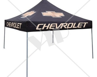 Custom Branded Pop Up Canopy Tents for Events & Tradeshows - Portable Canopies - Pop-Up Awnings -  10 feet x 10 feet