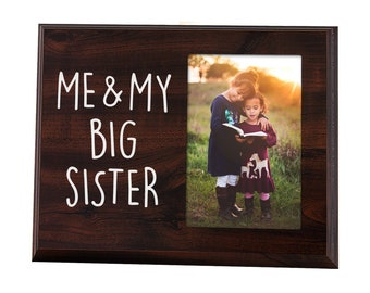 Sister Gifts Photo Picture Frame 4x6 For Women Side By Side Etsy