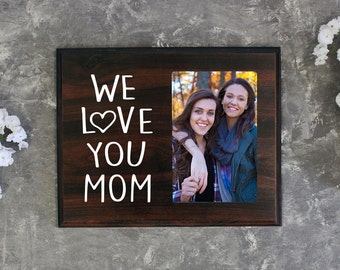 Gift for Mom Picture Holder Gift for Mothers Day Mothers Day Gift Photo Frame Alternative Mom Birthday