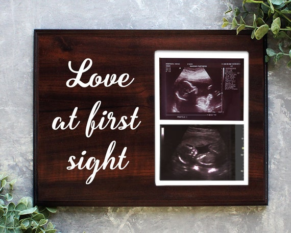 Love At First Sight Frame Ultrasound Frame Ultrasound Picture Etsy