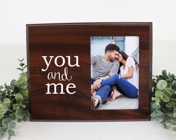 You And Me Picture Frame Etsy