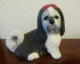 Ceramic Shih Tzu Figurine