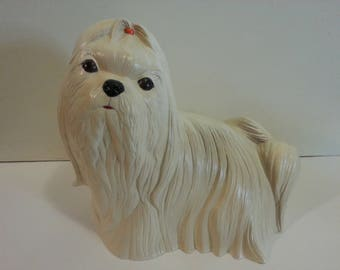 Ceramic Shih Tzu Statue