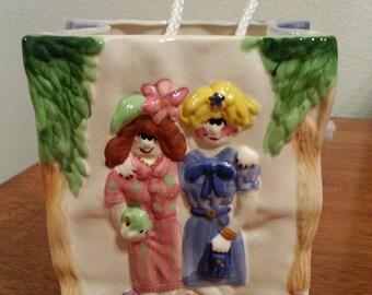 "Ceramic ""Paper"" Bag"