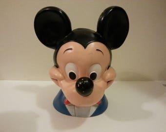 1971 Disney Mickey Plastic Bank