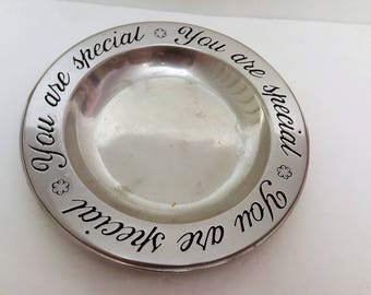 Steel/Metal Plate Engraved with You are special