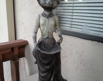 Decorative Lady Fox for Garden or Yard