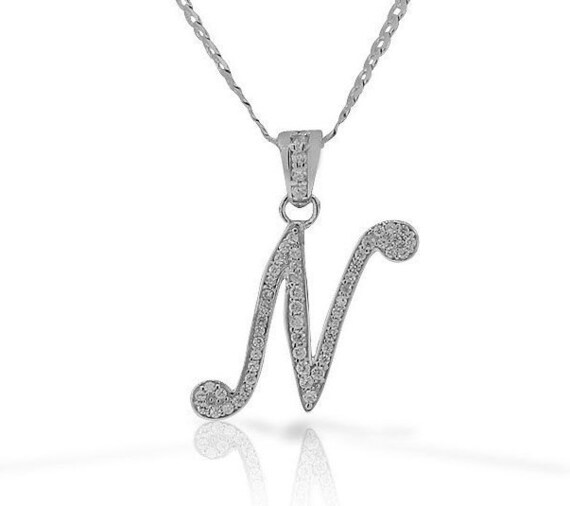 .925 Sterling Silver Vibrant CZ Fancy Charm Pendant