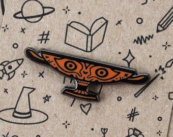 Greek Kylix Enamel Pin   Greek Pottery Inspired Hard Enamel Pin   Kylix Pottery Pin