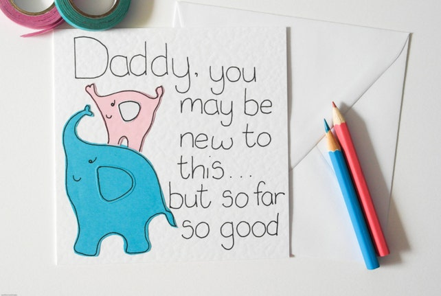 Handmade Daddy Birthday Card New Greeting Fathers Day Daughter To Her