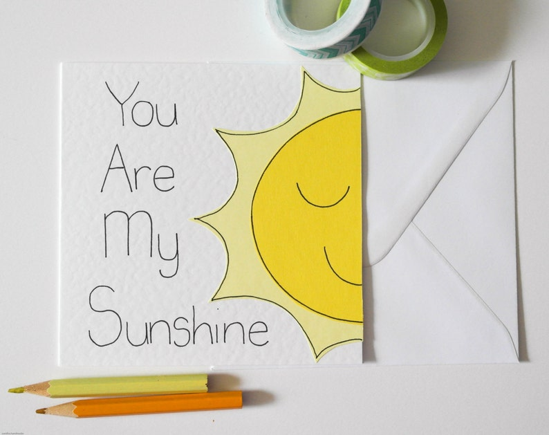 Handmade Greeting Card Best Friends Birthday You Are My