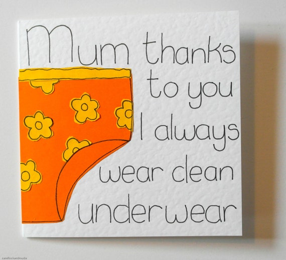 Mothers Day Card Mum Funny Birthday Card Card For Mom Joke