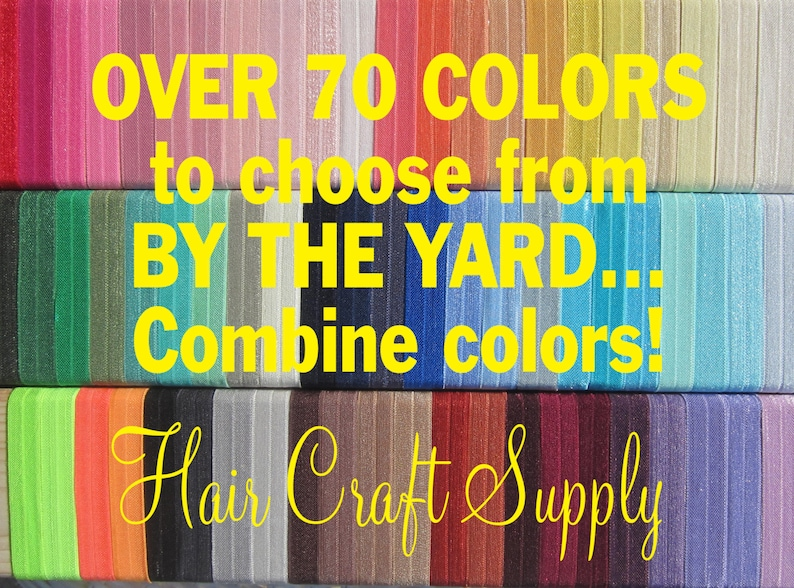 FOE CHOOSE any 5 Yards Assorted ELASTIC by the Yard for image 0