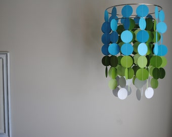 Circle Dot Chandelier Mobile - Choose Your Colors