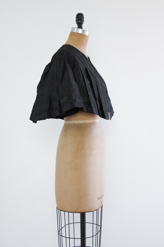 antique victorian capelet with batwing sleeves | … - image 3