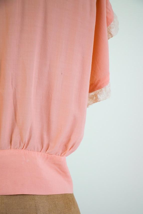 vintage 1940s bed jacket   1930s lingerie   1940s… - image 10