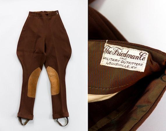 vintage jodhpurs | 1940s pants | vintage riding pants | 1930s jodhpur steampunk trousers | 40s pants