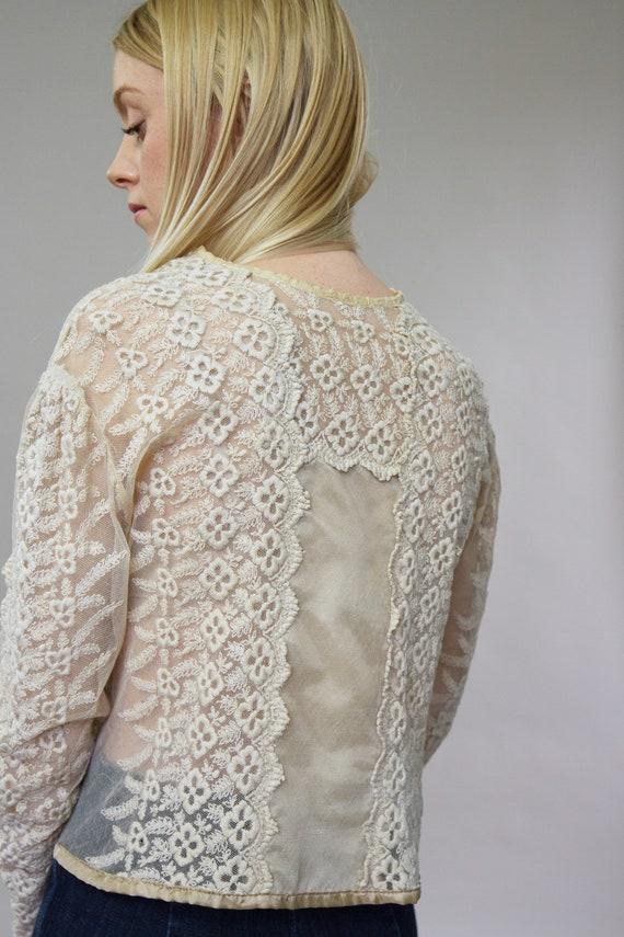 vintage 1900s Victorian blouse | 1910s blouse | E… - image 9