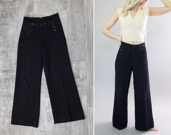 vintage 1940s pants | naval clothing factory | 40s