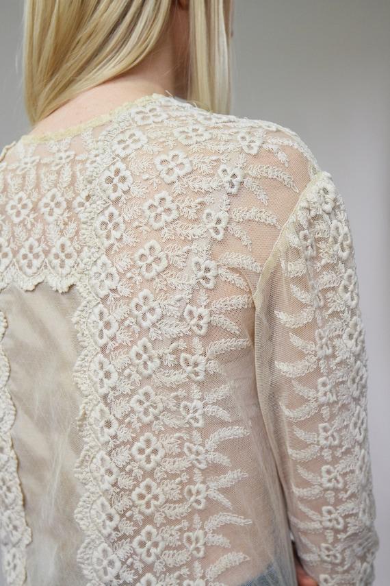 vintage 1900s Victorian blouse | 1910s blouse | E… - image 8