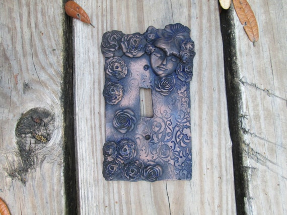 Romantic Fairy Light Switch Plate Cover Resin Light Switch Etsy