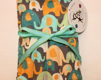 Christmas gift, Crayon tote, quiet time play, stocking stuffer, Crayola crayons and tablet included, ready to ship, children's toy.